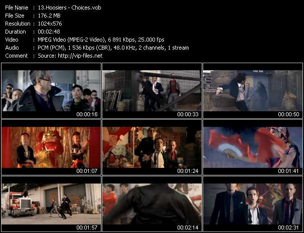 Hoosiers video screenshot
