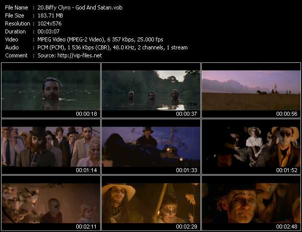 Biffy Clyro video screenshot