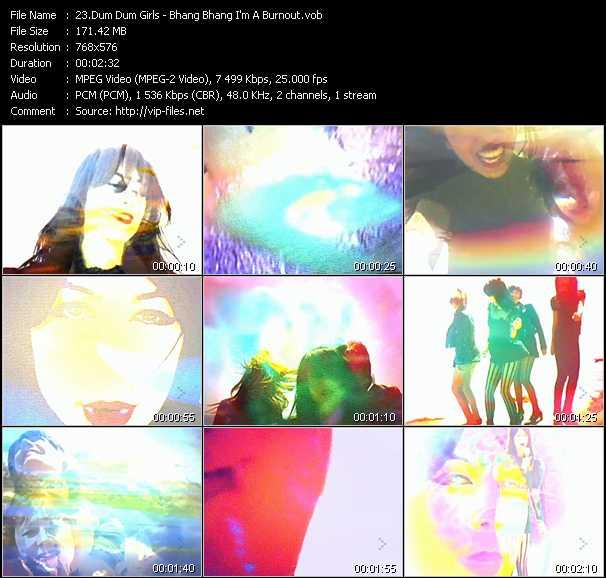 Dum Dum Girls video screenshot