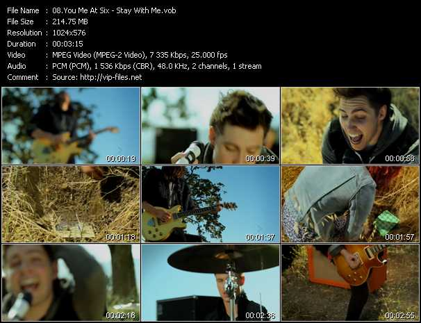 You Me At Six video screenshot