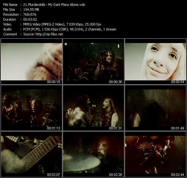 Murderdolls video screenshot
