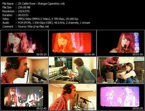 Caitlin Rose video screenshot