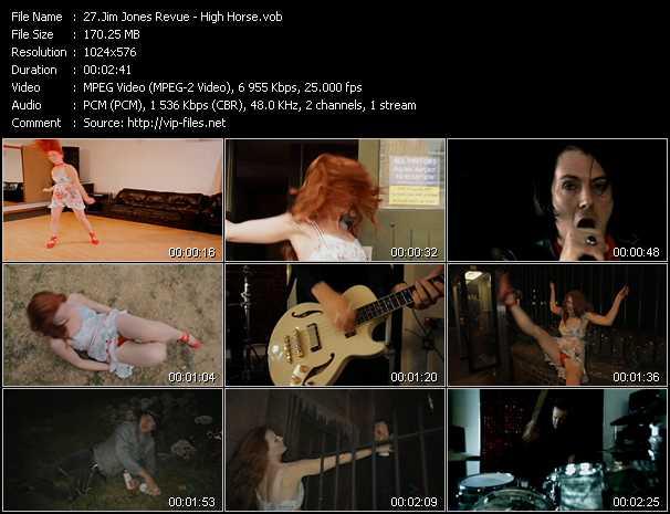 Jim Jones Revue video screenshot