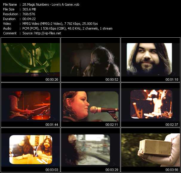 Magic Numbers video screenshot