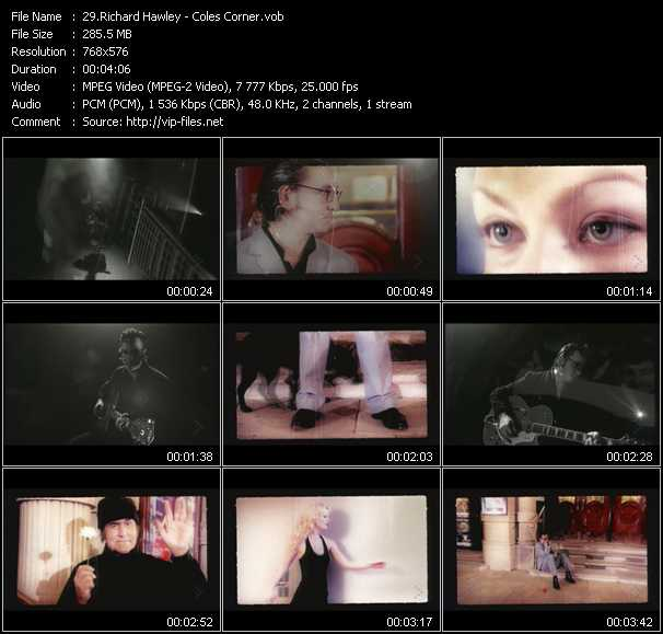 Richard Hawley video screenshot