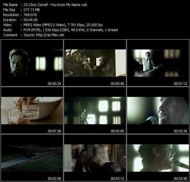 Chris Cornell video screenshot