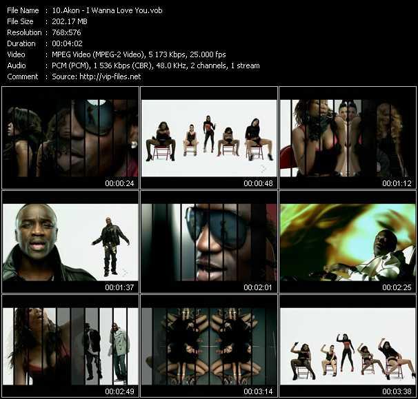 video I Wanna Love You screen