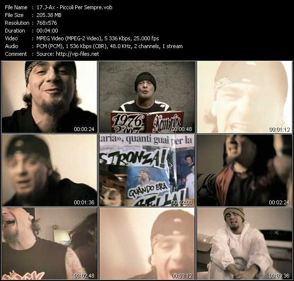 J-Ax video screenshot