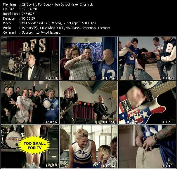 Bowling For Soup video screenshot