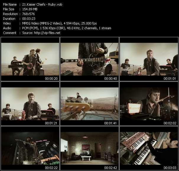 Kaiser Chiefs video screenshot