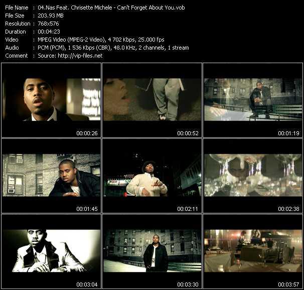 Nas Feat. Chrisette Michele video screenshot