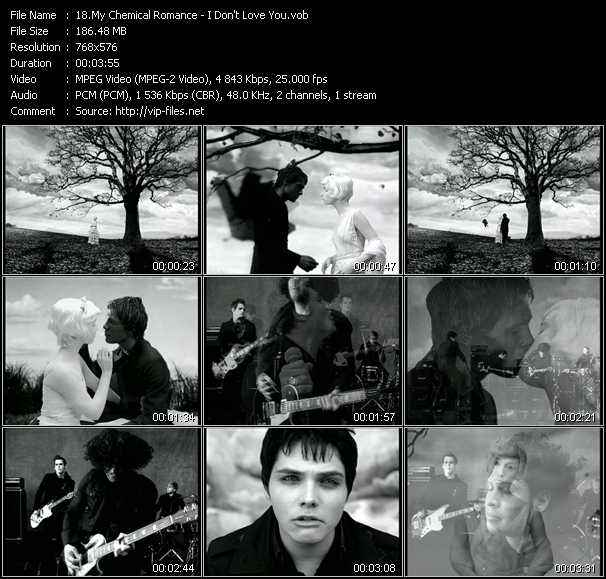 My Chemical Romance video screenshot