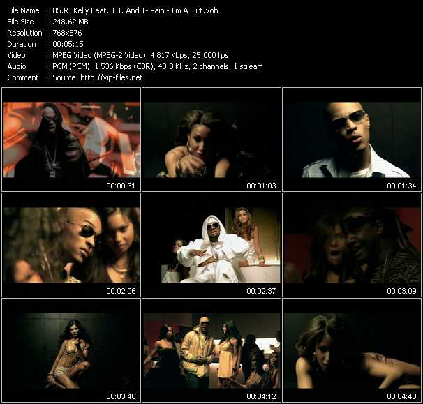 R. Kelly Feat. T.I. And T-Pain video screenshot