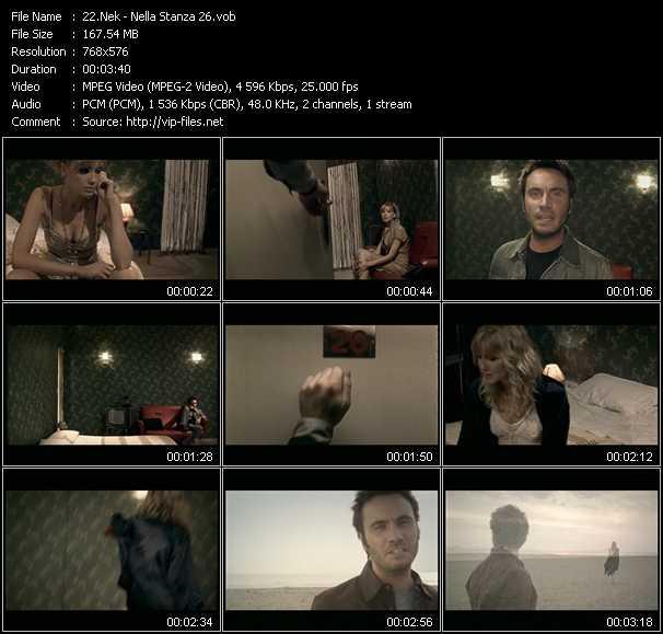 Nek video screenshot
