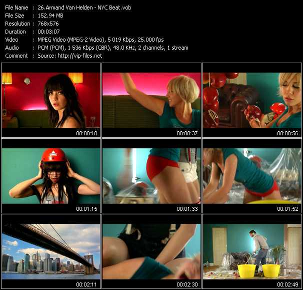 Armand Van Helden video screenshot