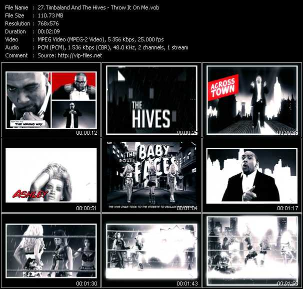 Timbaland And The Hives video screenshot