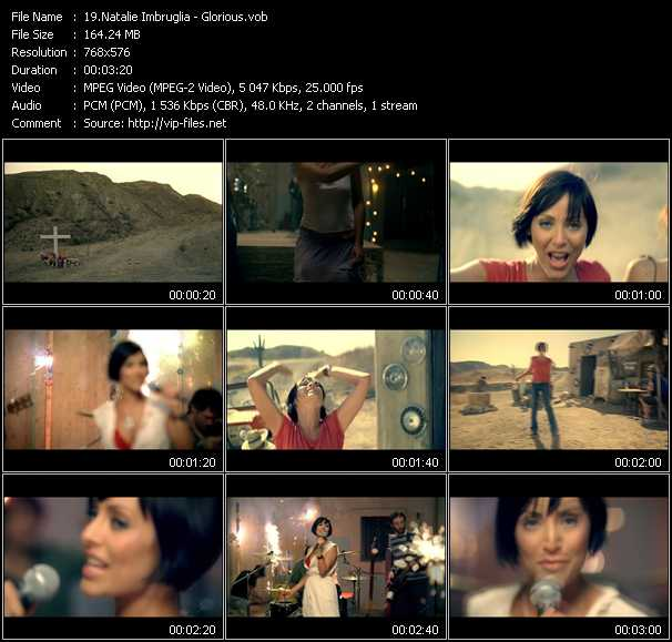 Natalie Imbruglia video screenshot