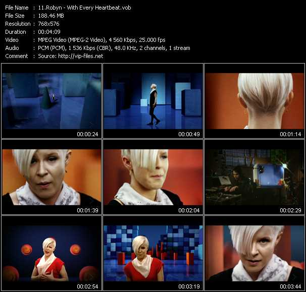 Robyn video screenshot