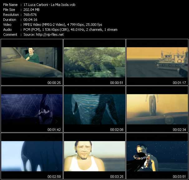 Luca Carboni video screenshot