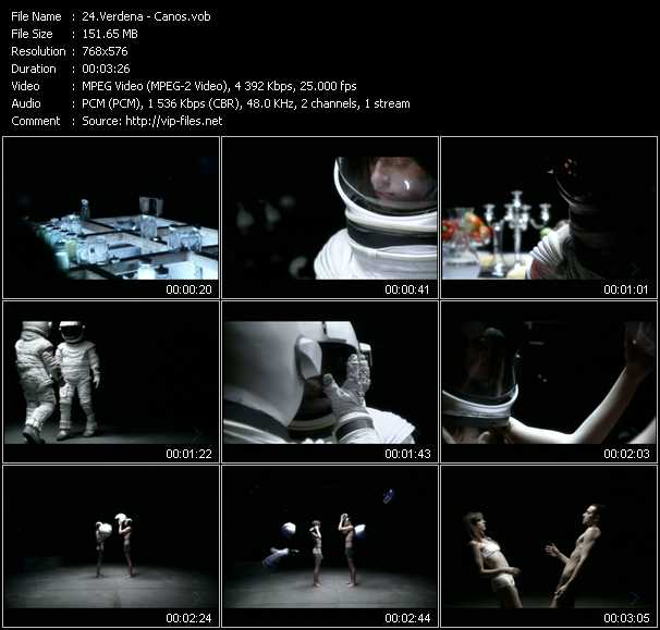 Verdena video screenshot