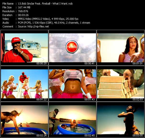 Bob Sinclar Feat. Fireball video screenshot