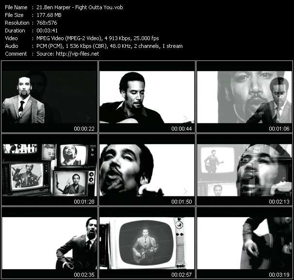 Ben Harper video screenshot