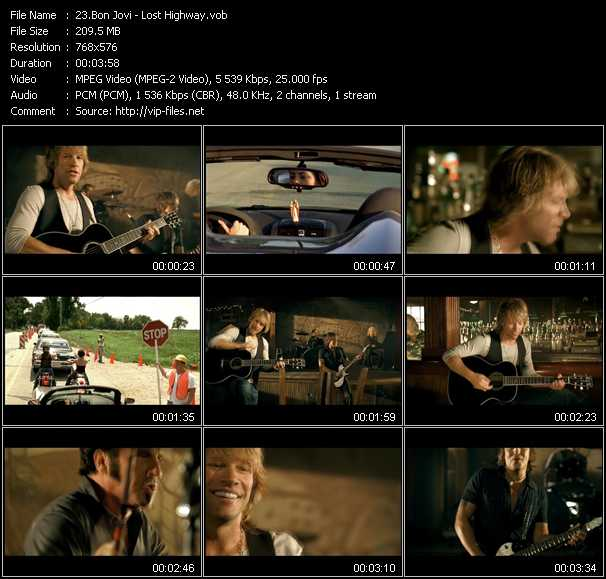 video Lost Highway screen