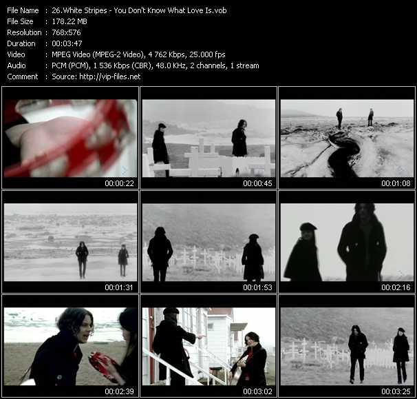 White Stripes video screenshot
