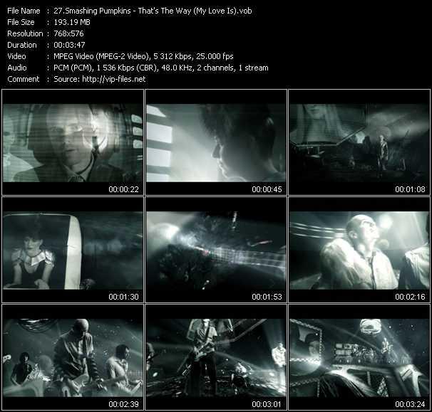 Smashing Pumpkins video screenshot