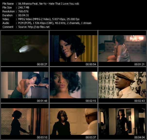 Rihanna Feat. Ne-Yo video screenshot
