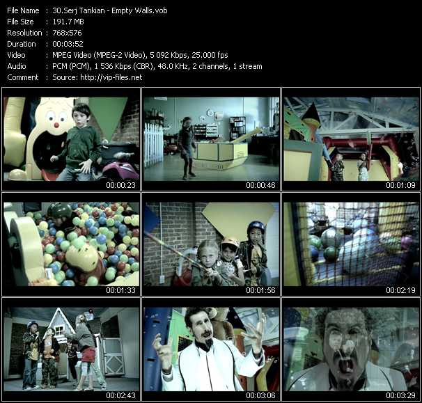Serj Tankian video screenshot