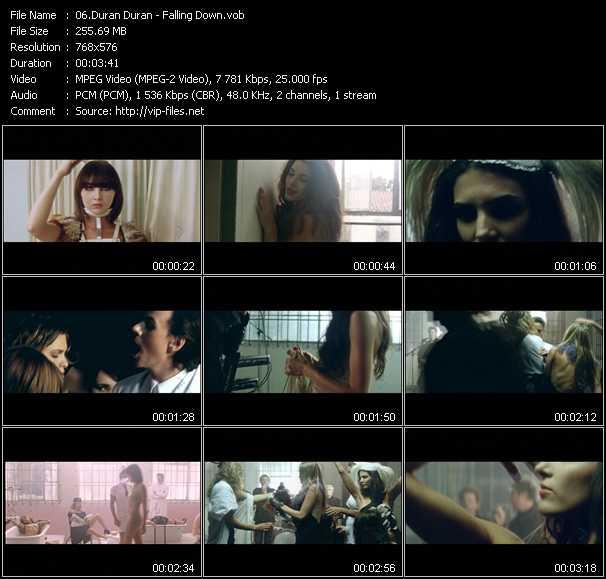 video Falling Down screen