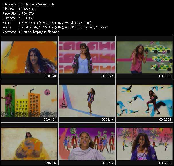 M.I.A. video screenshot
