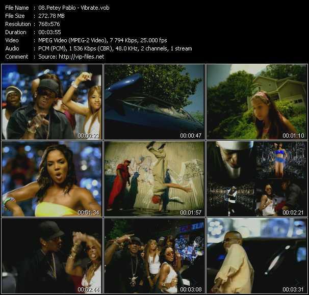 Petey Pablo video screenshot