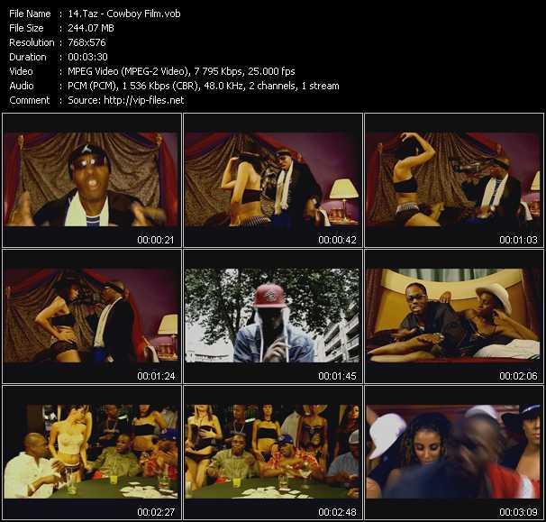 Taz video screenshot