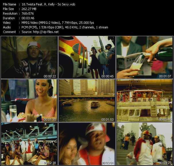 Twista Feat. R. Kelly video screenshot