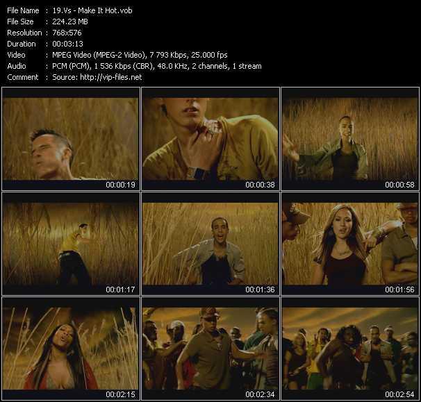 Vs video screenshot
