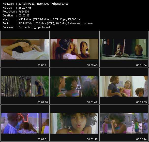 Kelis Feat. Andre 3000 video screenshot