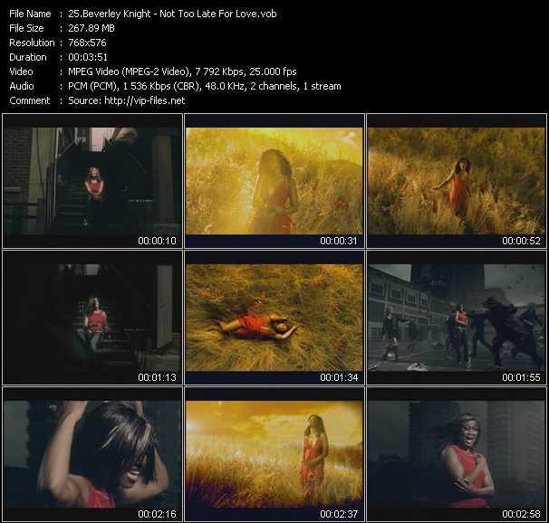 Beverley Knight video screenshot
