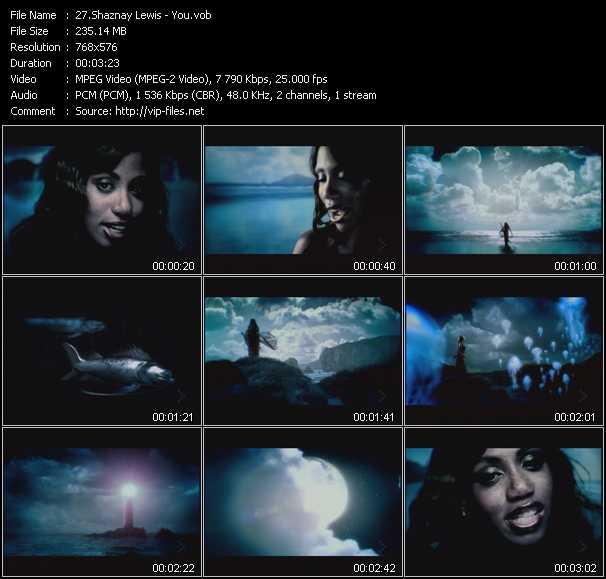 Shaznay Lewis video screenshot