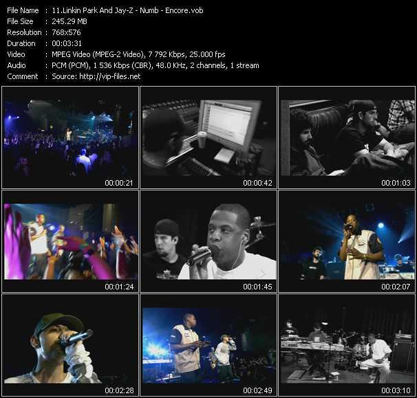 Linkin Park And Jay-Z video screenshot