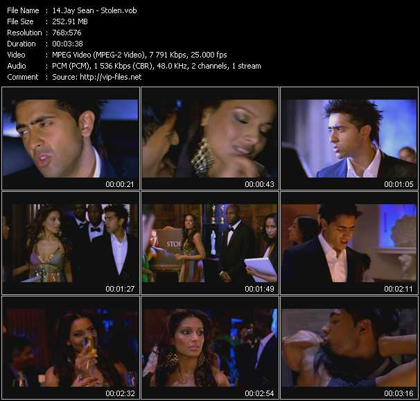Jay Sean video screenshot