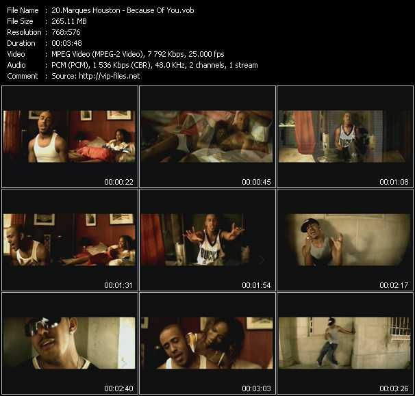 Marques Houston video screenshot