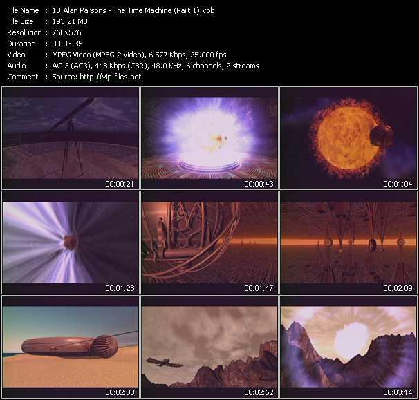 Alan Parsons video screenshot