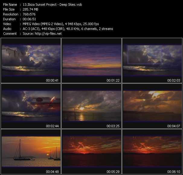 Ibiza Sunset Project video screenshot
