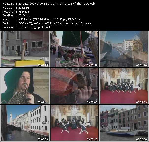 Casanova Venice Ensemble video screenshot