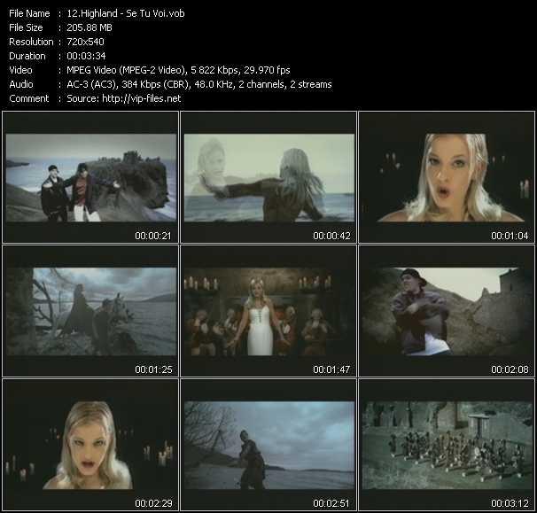 Highland video screenshot