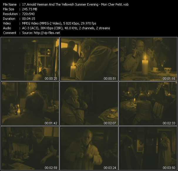Arnold Veeman And The Yellowish Summer Evening video screenshot