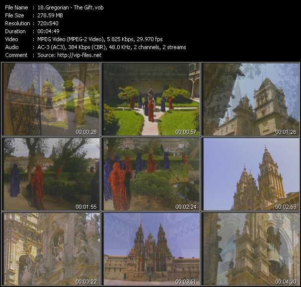Gregorian video screenshot