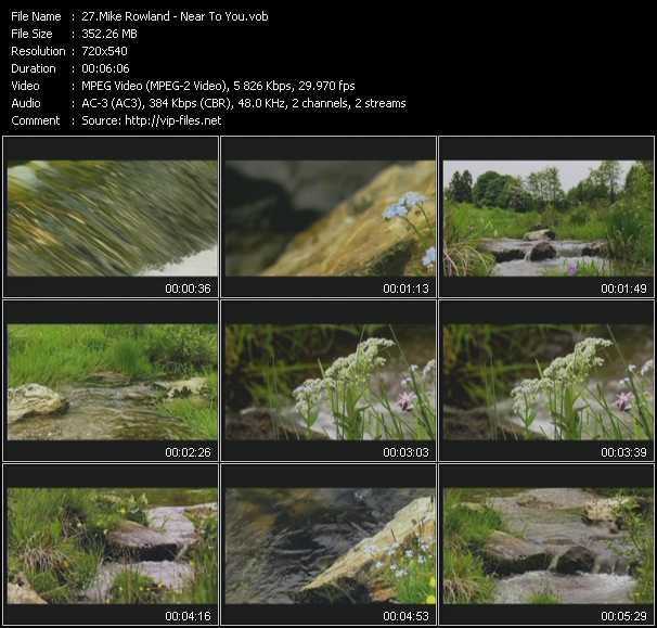 Mike Rowland video screenshot